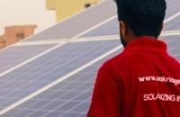 Solaraufdachanlagen in Indien - Oakridge Energy I